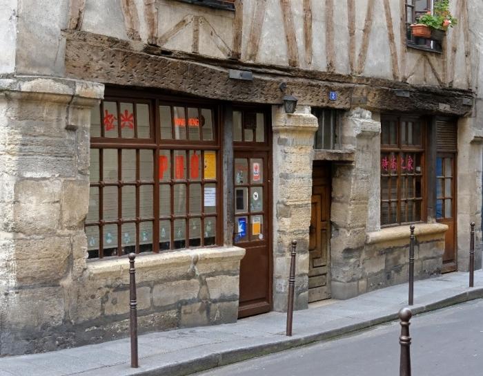 Les plus anciennes maisons de Paris